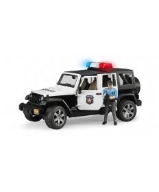 JEEP POLICYJNY Z POLICJANTEM