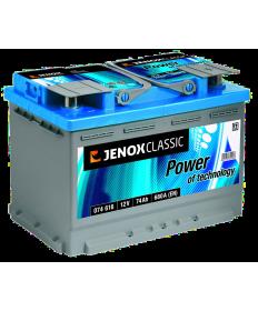 Akumulator Jenox 74 Ah 680A